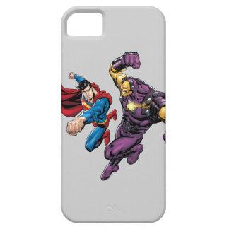 Superman Fights Enemy 2 iPhone SE/5/5s Case