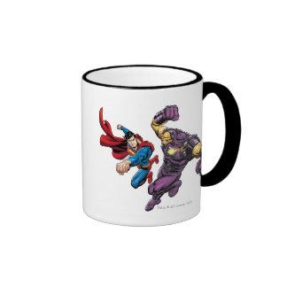 Superman Fights Enemy 2 Mug