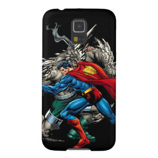 Superman Fights Enemy Galaxy S5 Cases