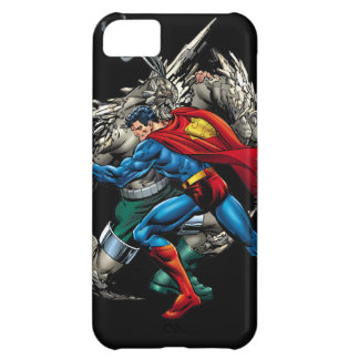 Superman Fights Enemy iPhone 5C Case