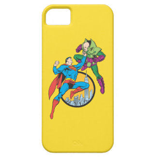 Superman Fights Lex Luthor iPhone 5 Cover