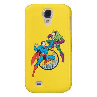 Superman Fights Lex Luthor Samsung Galaxy S4 Case