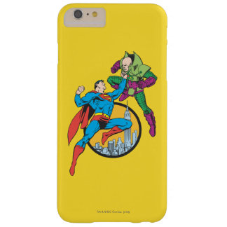 Superman Fights Lex Luthor Barely There iPhone 6 Plus Case