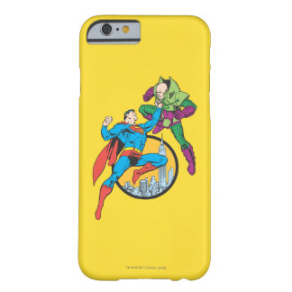 Superman Fights Lex Luthor Barely There iPhone 6 Case