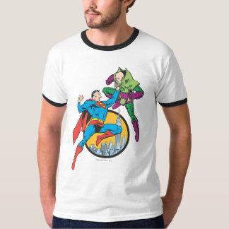 Superman Fights Lex Luthor T-Shirt