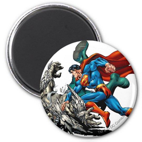 Superman Fights Monster Magnet