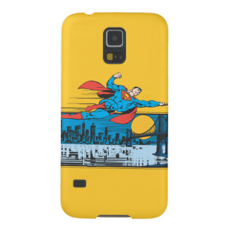 Superman Flies Across Town Galaxy S5 Cover