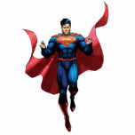 "Superman Flying Cutout<br><div class=""desc"">Justice League New 52</div>"