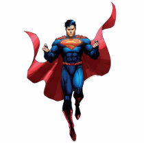Superman Flying Cutout