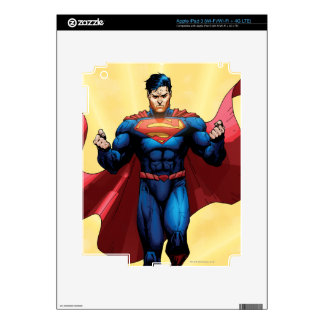 Superman Flying Decal For iPad 3