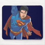 Superman Flying Forward Mouse Pad