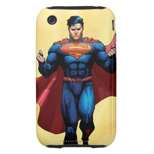 Superman Flying iPhone 3 Tough Case