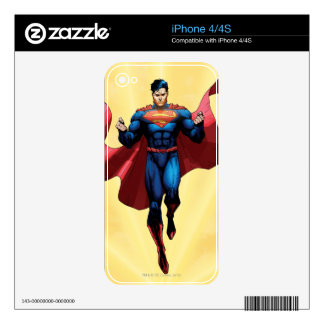 Superman Flying iPhone 4S Decal