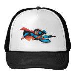 Superman Flying Kick Trucker Hats