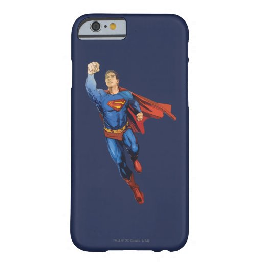Superman Flying Left Barely There iPhone 6 Case