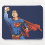 Superman Flying Left Mouse Pad