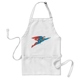 Superman Flying Right Adult Apron