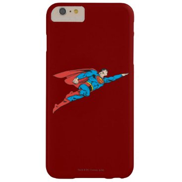Superman Flying Right Barely There iPhone 6 Plus Case