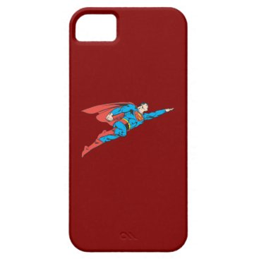 Superman Flying Right iPhone SE/5/5s Case
