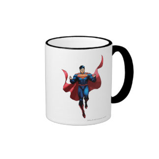 Superman Flying Ringer Mug