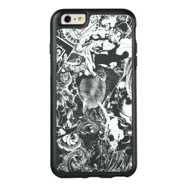 Superman Gray Collage OtterBox iPhone 6/6s Plus Case