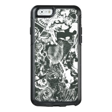 Superman Gray Collage OtterBox iPhone 6/6s Case