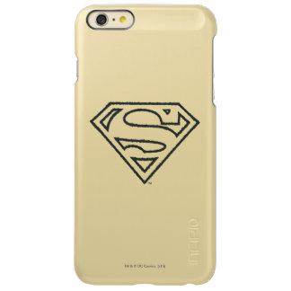 Superman Grunge Logo 2 2 Incipio Feather® Shine iPhone 6 Plus Case