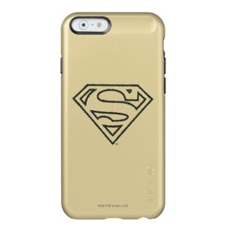 Superman Grunge Logo 2 2 Incipio Feather® Shine iPhone 6 Case