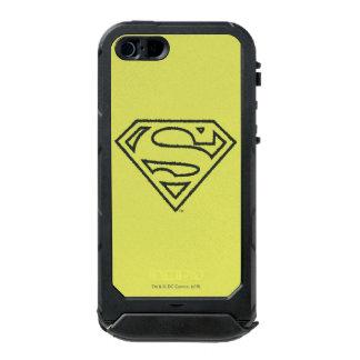 Superman Grunge Logo 2 2 Incipio ATLAS ID™ iPhone 5 Case