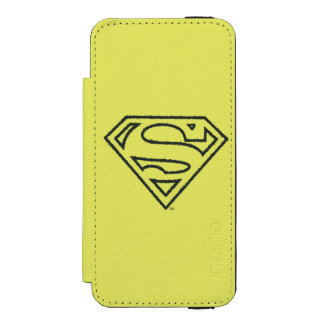 Superman Grunge Logo 2 2 Incipio Watson™ iPhone 5 Wallet Case