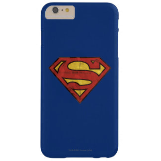 Superman Grunge Logo 2 Barely There iPhone 6 Plus Case