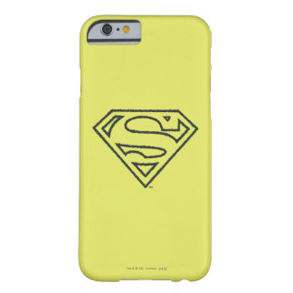 Superman Grunge Logo 2 Barely There iPhone 6 Case