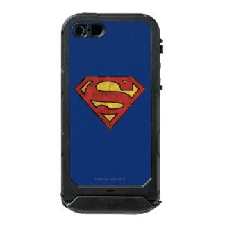Superman Grunge Logo 2 Incipio ATLAS ID™ iPhone 5 Case