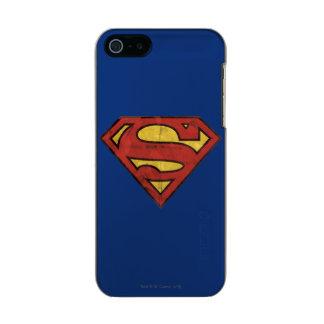 Superman Grunge Logo 2 Incipio Feather® Shine iPhone 5 Case