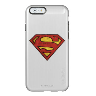 Superman Grunge Logo 2 Incipio Feather® Shine iPhone 6 Case