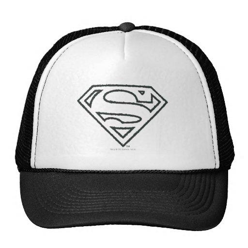 Superman Grunge Logo 2 Trucker Hat