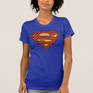 Superman Grunge Logo Tanks