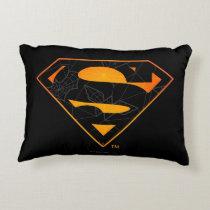Superman | Halloween Inspired Logo Accent Pillow
