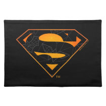 Superman | Halloween Inspired Logo Cloth Placemat