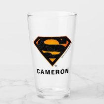 Superman | Halloween Inspired Logo Glass