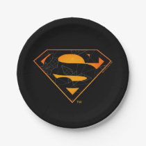 Superman | Halloween Inspired Logo Paper Plate
