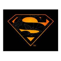 Superman | Halloween Inspired Logo Postcard