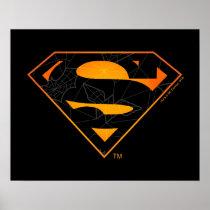 Superman | Halloween Inspired Logo Poster