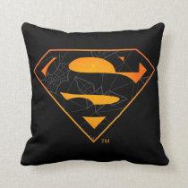 Superman | Halloween Inspired Logo Throw Pillow