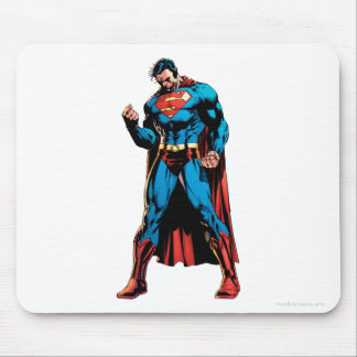 Superman  - Hand in fist Mouse Pad