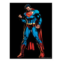 Superman  - Hand in fist Postcard
