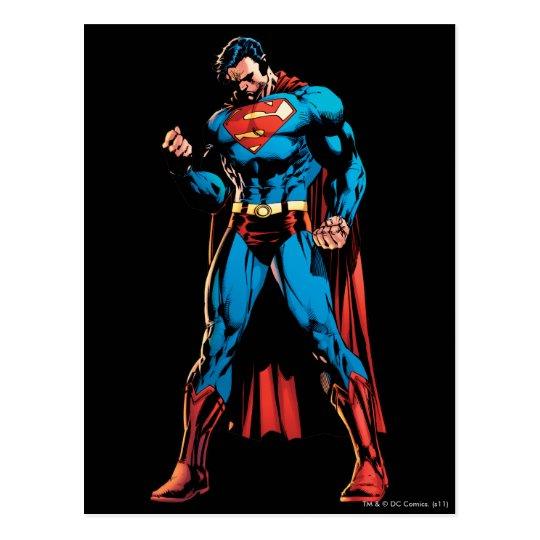 Superman  - Hand in fist Postcard