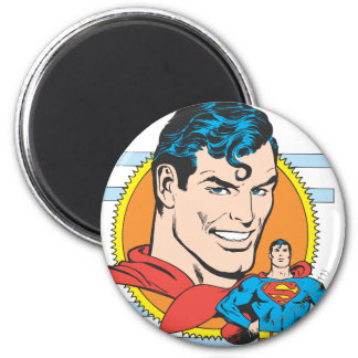Superman Head Shot Magnet