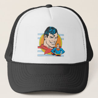 Superman Head Shot Trucker Hat