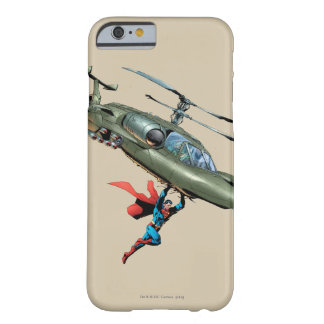 Superman holds helicopter barely there iPhone 6 case